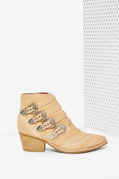 Jeffrey Campbell Glenrio Leather Boot | Shop Shoes at Nasty Gal!