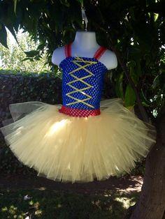Snow White tutu dress by 2Twos on Etsy