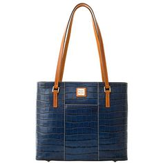 Croco Lexington Shopper - Does it get any better than a Dooney and Bourke blue croco?  I think not!