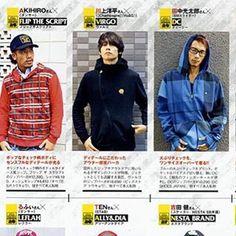 [Champagne]川上洋平2010/11/2  「Samurai magazine」で[Champagne]時代の川上洋平にVIRGO着て出で貰いました。 洋平の初ファッション誌デビュー作。