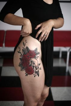 I would love Alice Carrier to do my next tattoo....love the placement, but lower.