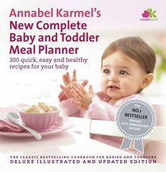 One of our favourites! Annabel Karmel's New Complete Baby & Toddler Meal Planner - 200 Quick, Easy and Healthy Recipes for Your Baby - currently with 25% off..