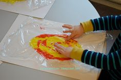 Interaction Imagination: Valborg/Walpurgis painting.... making fire with paint