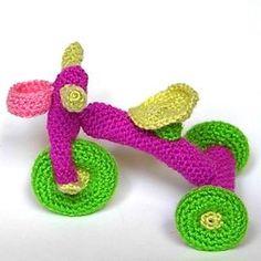Patrón Triciclo amigurumi