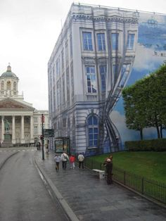 Magritte museum, Brussels, surrealism gives me nightmares.