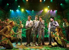 'Peter and the Starcatcher' A fun and imaginative piece of theatrical magic telling the beginnings of Peter Pan and the lost boys.
