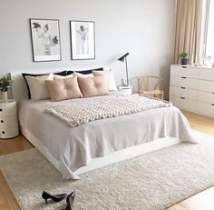 Scandinavian style is one of the most popular styles of interior design. Although it will work in any room, especially well in the bedroom. We advise how to decorate a bedroom in a Scandinavian style. Bedroom in Scandinavian Style is… Continue Reading → Home Decor Bedroom, Modern Bedroom, Bedroom Ideas, Bedroom Themes, Minimalist Bedroom, Bedroom Inspo, Bedroom Inspiration, Modern Minimalist, Bedrooms Ideas For Small Rooms