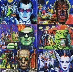 Mountain Dew, Horror Art, Back In The Day, Dark Art, Monsters, Deadpool, Joker, Creatures, Cthulhu