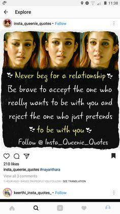 Just Pretend, Brave, Relationship, Quotes, Quotations, Qoutes, Quote, Shut Up Quotes