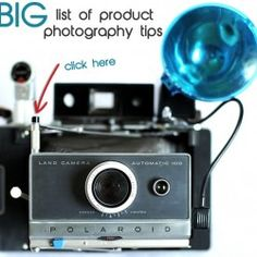 Big List Of Product Photography Tips For Etsy Sellers http://www.handmadeology.com/