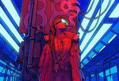 Cyberpunk Art | Киберпанк #Cyberpunk #Киберпанк