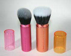 Real Techniques Retractable Kabuki Brush and Bronzer Brush