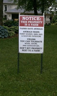 Farm. Haha. Love