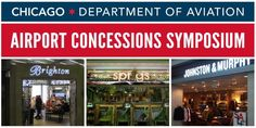 Register now for The Chicago Department of Aviation Airport Concessions Symposium scheduled for March 25, 2015