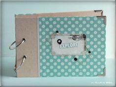 Albumcedario Mini Albums, Paper Envelopes