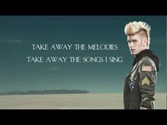 Colton Dixon - Let Them See You  Great song for Christian musicians. People shouldn't see us and our talent, they should see Christ through our words and melodies :-)