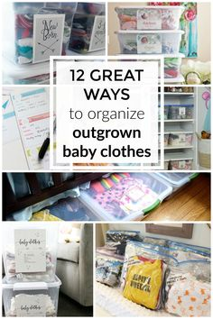 Outgrown baby clothes: 12 great storage and organization ideas — The Organized Mom Life Baby Clothes Storage, Storing Baby Clothes, Diy Baby Clothes Quilt, Baby Clothes Patterns, Knitted Baby Clothes, Toddler Preschool, Toddler Activities, Baby Memory Quilt, Baby Bloomers Pattern