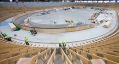 London 2012 Velodrome on track - Official Website of the Chinese Olympic Committee