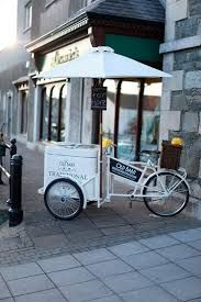 Image result for vintage ice cream cart