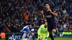 Més Que un Club: Suarez Dua Gol, Barcelona Atasi Espanyol 3-0