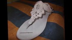 Sandalias de Macrame
