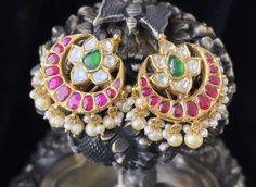 Chains, Chokers, Indian, Jewellery, Simple, Earrings, Fashion, Ear Rings, Moda