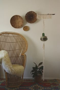 abilene / / simple and chic handmade macrame by acupfullofsunshine, design interior design 2012 home design room design Interior Design Kitchen, Interior And Exterior, Interior Decorating, Deco Originale, House Design Photos, Bohemian Interior, Take A Seat, William Morris, Apartment Design