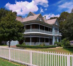 Dr. Nathan and Lula Cass House, Cameron, Texas. Credit Larry D. Moore