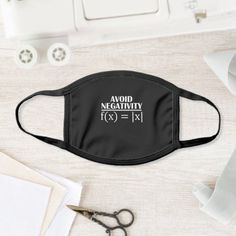 Avoid Negativity Math Teacher Face Mask school organization, back to school items, welcome back to school crafts preschool #backtoschooltomorrow #backtoschooloutfits #backtoschoolnails, dried orange slices, yule decorations, scandinavian christmas Black And White Face, White Face Mask, Solid Black, Logo Face, How To Protect Yourself, Pretty Black, Wedding Groom, Wedding Ceremony, Spandex Fabric