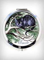 Cheshire Smile Compact Mirror at PLASTICLAND