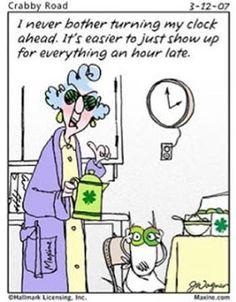 Mary's Craft Nook: Daylight Saving Time begins on Sunday, March 10 & ends on Sunday, November 3, 2013