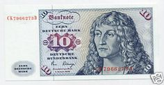 GERMANY * Top UNC !!! 10 Mark 2/1/1980 *SCARCE !!!  http://www.ebay.com/itm/GERMANY-Top-UNC-10-Mark-2-1-1980-SCARCE-/161107851054?pt=Paper_Money&hash=item2582c6b72e
