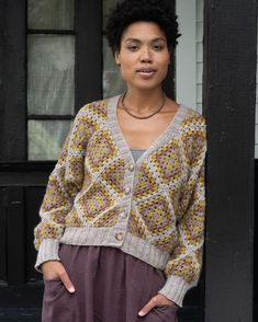 """@savoryknitting's Instagram profile post: """"Are you subscribed to @berrocoyarn #knitbits somebody (me) stepped outside her comfort zone and crocheted a cardi with #berrocolanas the…"""" Crochet, Instagram, Ganchillo, Crocheting, Knits, Chrochet, Quilts"""