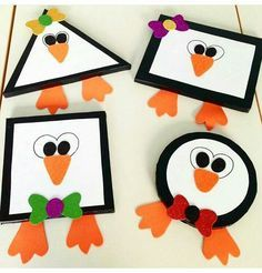 Great Penguin Craft Preschool Designs Granted, the majority of the crafts I found are fun and quick paper cup crafts that are suitable for younger children. Making crafts with co # Arts And Crafts For Teens, Art And Craft Videos, Easy Arts And Crafts, Winter Crafts For Kids, Popular Crafts, Toddler Art, Toddler Crafts, Preschool Crafts, Kids Crafts