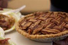 Apple bacon pie. : )