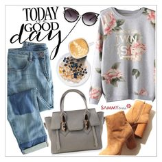 """Today is a good day"" by teoecar ❤ liked on Polyvore featuring Wrap, women's clothing, women, female, woman, misses, juniors and sammydress"