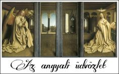 Genti oltár: Az angyali üdvözlet