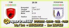Prediksi Skor Bola PSM vs Persipura 3 Jun 2017 Liga 1 di Stadion Andi Mattalatta (Makassar) pada hari Sabtu jam 20:30 WIB live di TV One