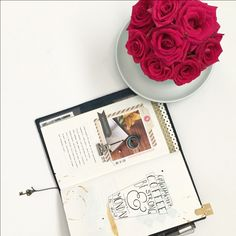 Nadia of Letters in November -  Midiori Traveler's Notebook pages for Love Where You Live by Little Paper Projects 11