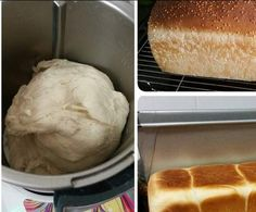 Recipe Jumbo White Bread Loaf - Thermomumma by _b_e_v_ - Recipe of category Breads & rolls