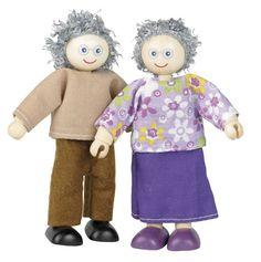 Tidlo Poppenhuis poppetjes Opa en Oma