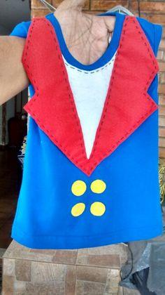 Camiseta pequeno principe...detalhes em feltro..