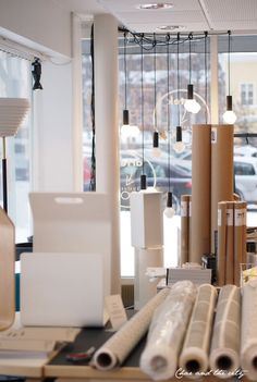 Sisustuksen koodi Helsinki, Divider, Curtains, Interior Design, Room, Furniture, Store, Home Decor, Nest Design