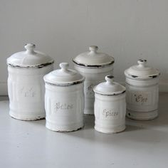 Beau Kitchen Canisters
