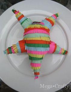 Mini Pinatas party favors