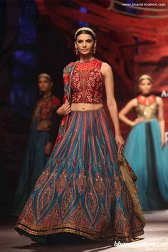 JJ Valaya at Aamby Valley India Bridal Fashion Week 2013