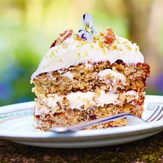 Try this Hummingbird Cake recipe by Chef Jamie Oliver. This recipe is from the show Jamie's Comfort Food.