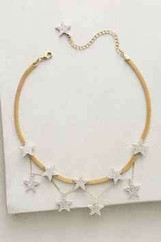 awesome String of Stars Choker #anthropologie...