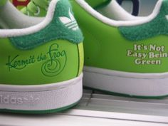 Kermit shoes!!