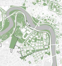 green space map - Tìm với Google